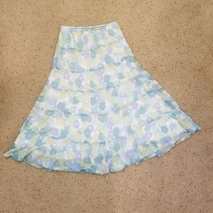 Ruby Rd. Tiered Skirt